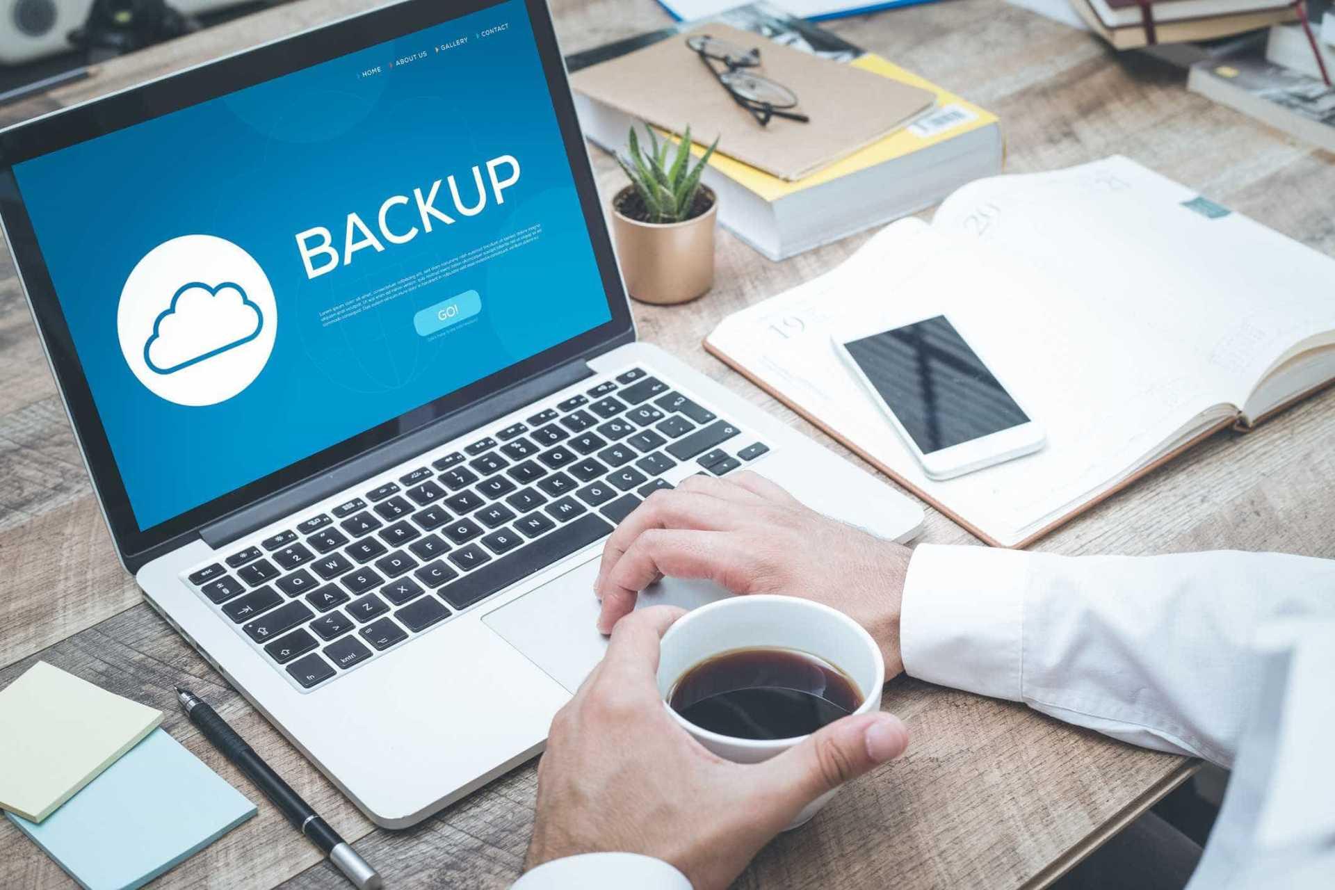 Conheça a importância do backup online para a segurança do seu site.